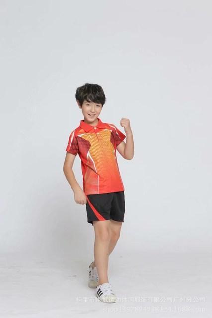 Детская теннисная форма Butterfly Delta Orange