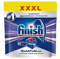 Finish quantum max 60 шт Таблетки для посудомойки 14 в 1 Финиш квантум макс пауэрбол 60 шт