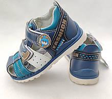 Детские босоножки сандалии для мальчика синие Y.TOP 25р 15.5см, фото 3