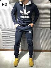 Спортивный костюм Adidas темно синий XXXL (54-56)