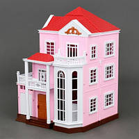 """Вилла """"Счастливая семья"""" 1513 3 этажа без мебели и кукол KK"""