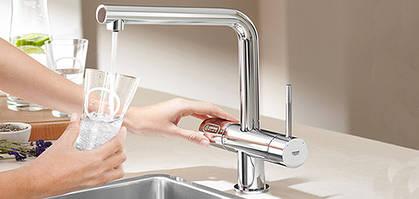 Смесители для обычной и фильтрованной воды