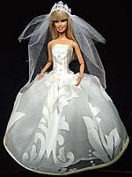 Одежда для кукол Барби - свадебный наряд., фото 1