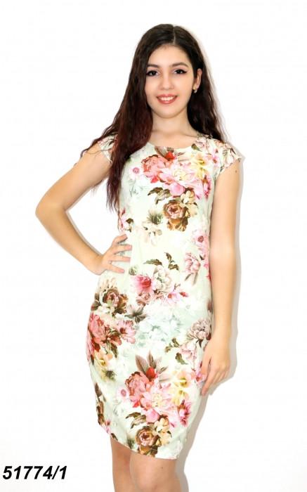 Летнее легкое женское платье 42 44 46р