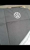 Чехлы на сиденья Volkswagen Caddy 2004 - 2015 Стандарт 'Prestige' з. c. и сидение 1/3 2/3; 5 подголовников
