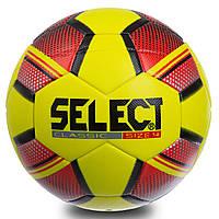 Мяч для футзала №4 Клееный-PVC SELECT CLASSIC FB-0555 (желтый-оранжевый) Replica