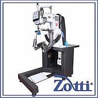 Машина автомат двухниточного челночного стежка для пошива краев подошвы обуви mod. FA-2000А. Famas (Турция)