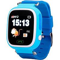 Смарт часы детские Q523 c GPS, GSM (iOS/Android) синие
