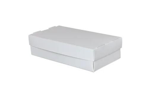 Упаковка для суши белая 100х190х55 мм (25шт)