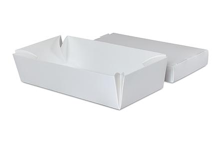 Упаковка для суши белая 100х190х55 мм (25шт), фото 2
