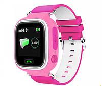 Смарт часы детские Q523 c GPS, GSM (iOS/Android) розовые