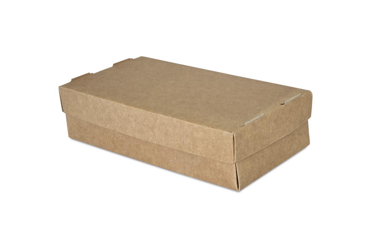 Упаковка для суши бурая 100х150х55 мм