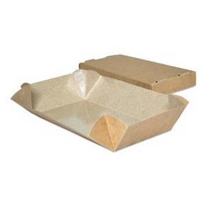 Упаковка для суши бурая 100х150х55 мм, фото 2