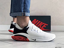 Мужские летние кроссовки сетка Joyride Run Flyknit,белые, фото 2