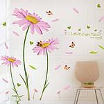 Декоративная  наклейка Ромашки  (245х150см), фото 7