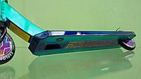 Трюковой самокат Explore Scat New 2020 хамелеон зелёный