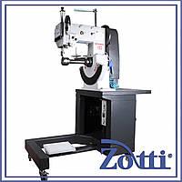 Машина автомат двухниточного челночного стежка для пошива краев подошвы mod. FA-2000AS. Famas (Турция)