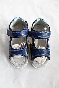 Дитячі шкіряні босоніжки для хлопчика Clibee Польща