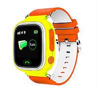 Смарт часы детские Q523S c WiFi и GPS, GSM (iOS/Android) оранжевые