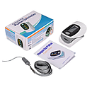 Пульсоксиметр Oximetro Пульсометр-оксиметр для контроля кислорода в крови, фото 3