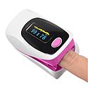 Пульсоксиметр Oximetro Пульсометр-оксиметр для контроля кислорода в крови, фото 5