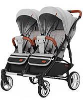 Детская коляска для двойни с люлькой-переноской Carrello Connect CRL-5502/1, фото 3