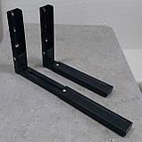 Кронштейн для мікрохвильової печі СВЧ MAR SVC02 чорного кольору, фото 3