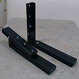 Кронштейн для мікрохвильової печі СВЧ MAR SVC02 чорного кольору, фото 4