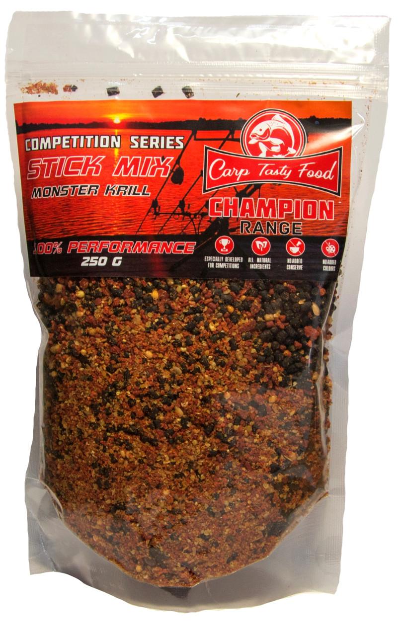 Стик-микс Carp Tasty Food Sport Competition One Monster Krill 250gr