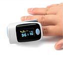 Пульсовий оксиметр SUNROZ пульсометр (пульсоксиметр) на палець, фото 9