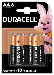 Батарейка Duracell АА LR06 MN1500 1x6 шт