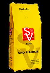 HoReCa купаж кофе 1 кг Uno Plasuare 50% арабика / 50% робуста средняя обжарка SV Caffe