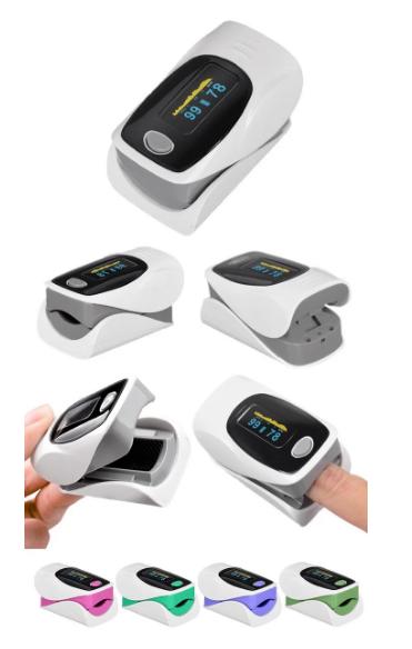 Пульсоксиметр Oximetro Пульсометр-оксиметр для контроля кислорода в крови