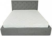 Кровать Richman Бристоль 120 х 190 см Aston 16 Серая
