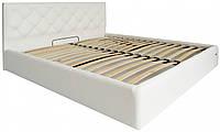 Кровать Richman Бристоль 120 х 190 см Madrit-0920 С подъемным механизмом и нишей для белья Белая