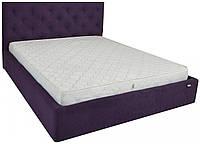 Кровать Richman Бристоль 120 х 190 см Missoni 022 С подъемным механизмом и нишей для белья Сиреневая