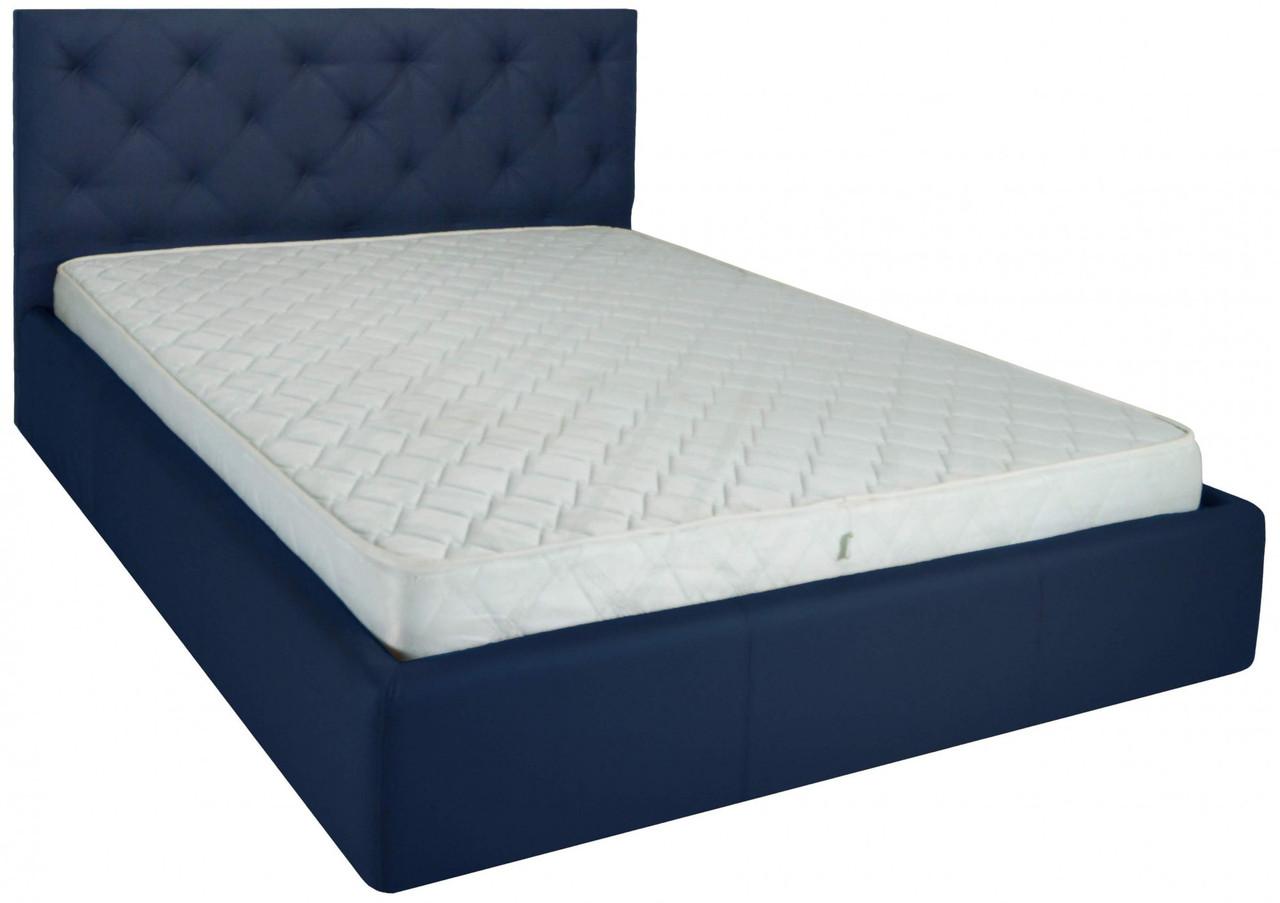 Кровать Richman Бристоль 120 х 190 см Флай 2227 Синяя