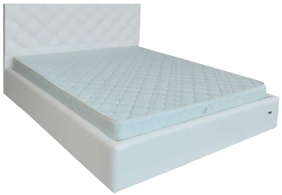 Кровать Bristol Comfort 120 х 200 см Boom 01 С подъемным механизмом и нишей для белья Белая