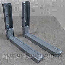 Кронштейн для мікрохвильової печі СВЧ MAR SVC10 кольором металік