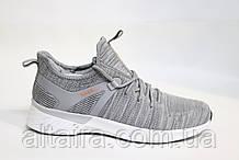 Стильні чоловічі світло-сірі кросівки літні, сітка.BAAS. Чоловічі стильні світло-сірі кросівки, літні.