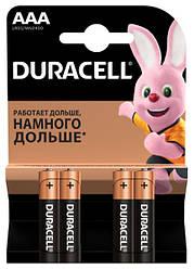 Батарейка Duracell ААА LR03 MN2400 1x4 шт.