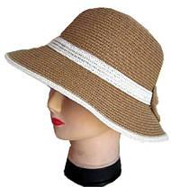 Шляпа летняя бант, фото 3