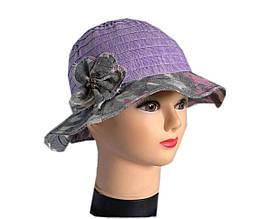 Женская  шляпа лен