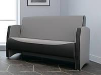 """М'який нерозкладний диван для офісу, залу очікування, HoReCa """"Берлін"""" для 3-х осіб"""