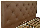 Кровать Двуспальная Richman Бристоль 160 х 190 см Флай 2213 A1 С подъемным механизмом и нишей для белья, фото 3