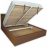 Кровать Двуспальная Richman Бристоль 160 х 190 см Флай 2213 A1 С подъемным механизмом и нишей для белья, фото 4