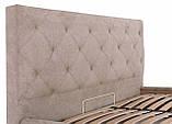 Кровать Двуспальная Richman Бристоль 160 х 200 см Мисти Mocco Серая, фото 6