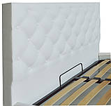 Кровать Двуспальная Richman Бристоль 180 х 190 см Boom 01 Белая, фото 3