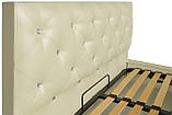 Кровать Двуспальная Richman Бристоль 180 х 190 см Мадрас Перламутр 3 White С1 Белая, фото 3