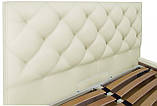 Кровать Двуспальная Richman Бристоль 180 х 190 см Флай 2200 A1 С подъемным механизмом и нишей для белья Белая, фото 3
